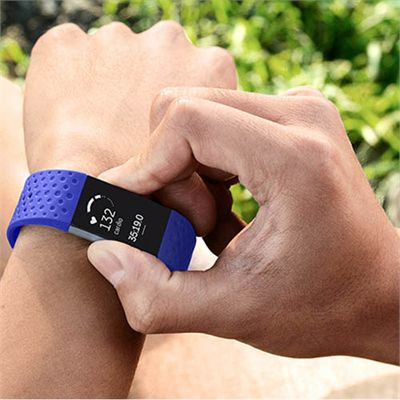 Fitbit Charge 2 Large Sport Accessory Band - Sweatband.com