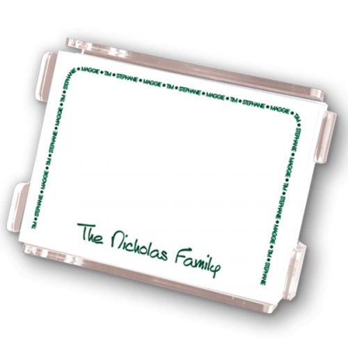Family Arch Agenda Notepad