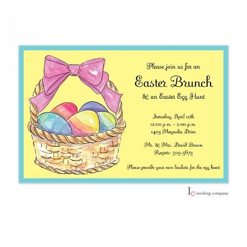 Sunny Easter Invitation