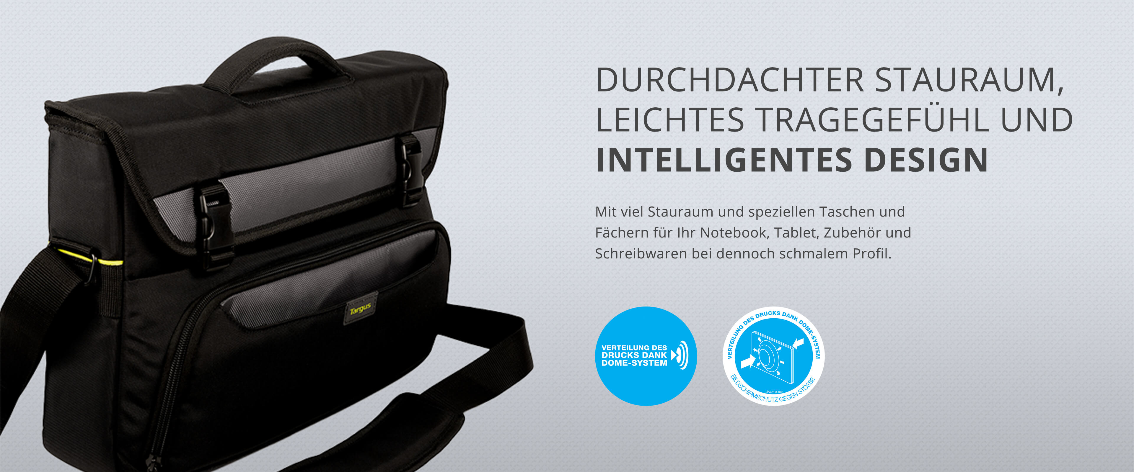 Stauraum Taschen Targus City Gear Bag Collection