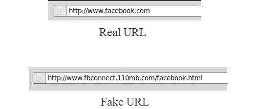 Real vs Fake URL