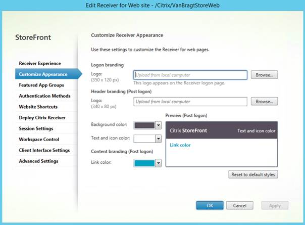 Installing and configuring Citrix StoreFront 35 (Part 2)