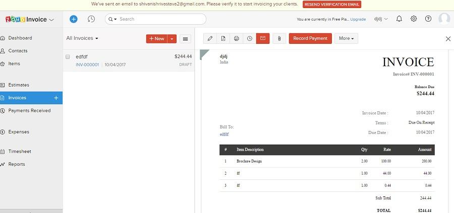 Top 10 Best Free Online Invoice Maker Tools