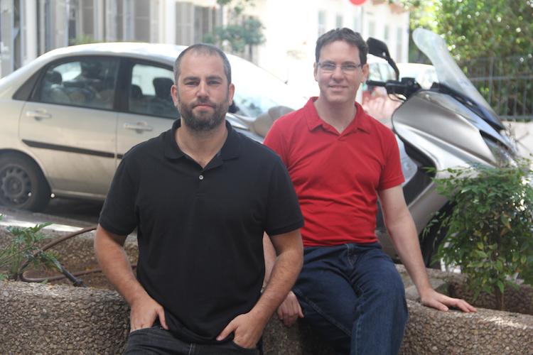 Twiggle's Amir Konigsberg (left) and Adi Avidor (right)