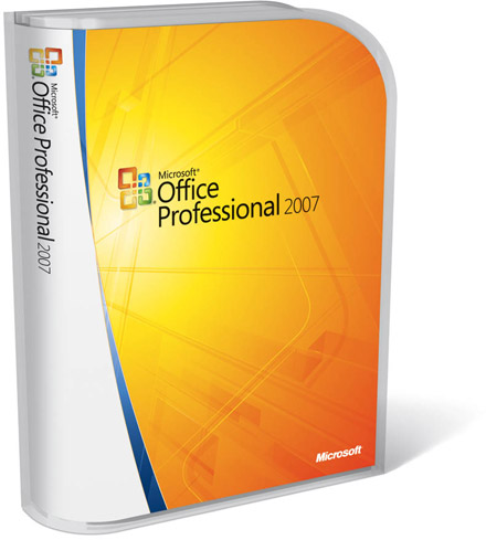 Microsoft Office 2007 System Enterprise Edition Final RTM Full Suite - office cd