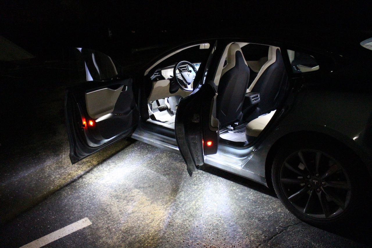 Auto Logo Verlichting Diy Tesla Model S And X Ultra Bright Led Interior Light Kit