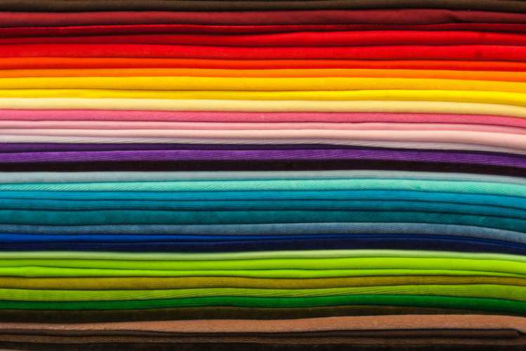 Textile Fabric Types - different types of fabrics and their patterns
