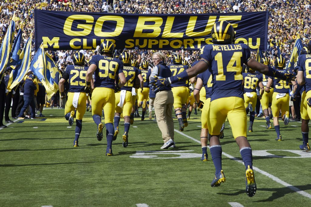 Ready for kickoff Michigan depth chart projections, analysis and