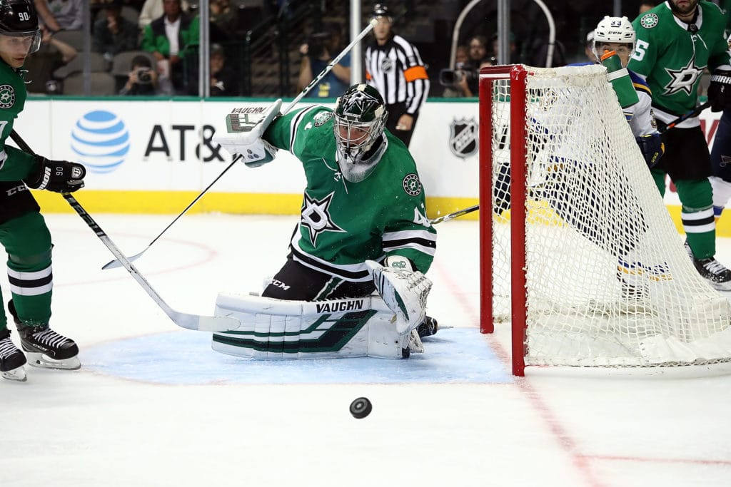 Stars prospect Landon Bow doing his best to seize No 3 goalie job