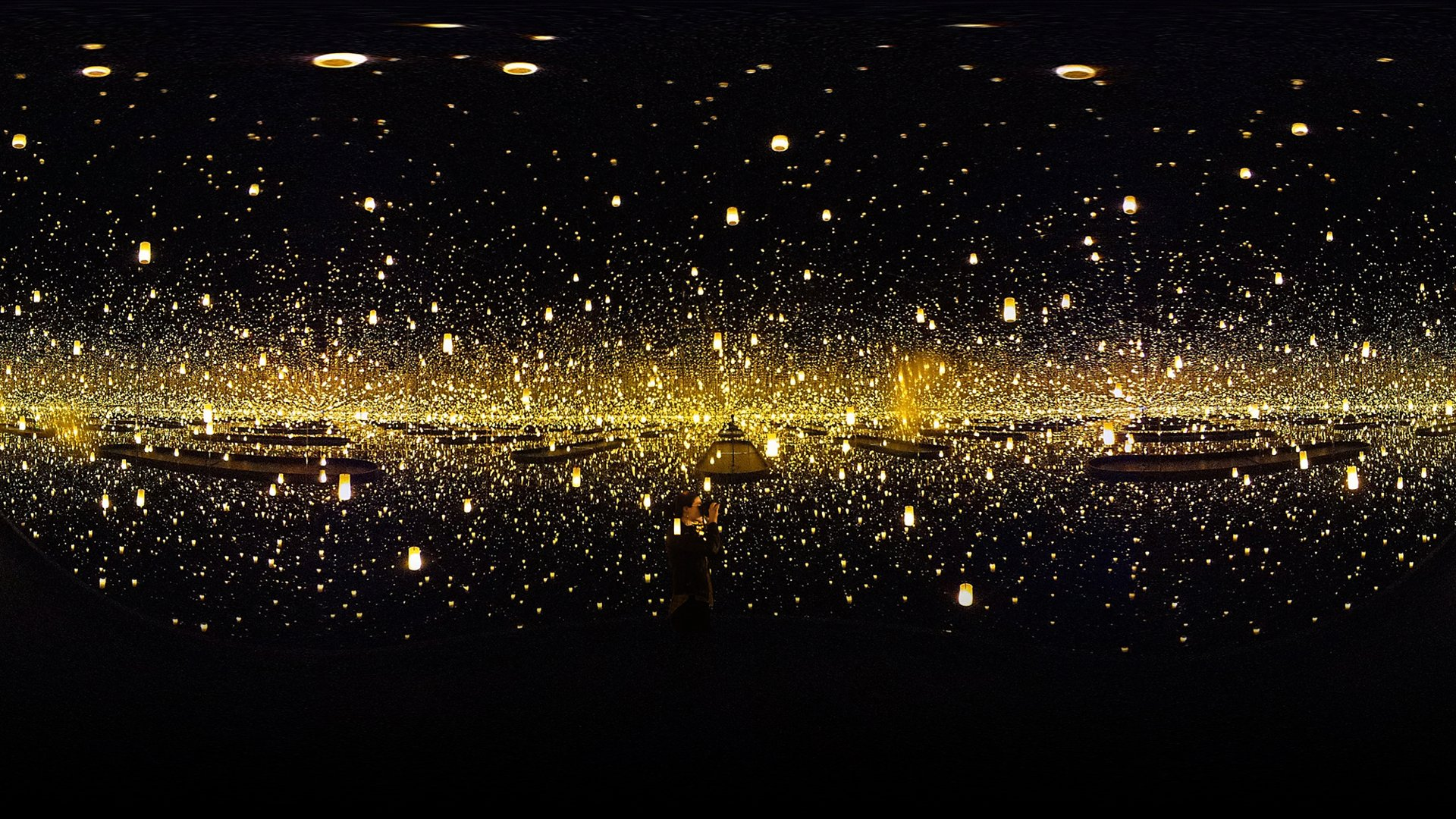 Wallpaper Of Lonely Girl In Rain Yayoi Kusama S Art For The Instagram Age The Atlantic