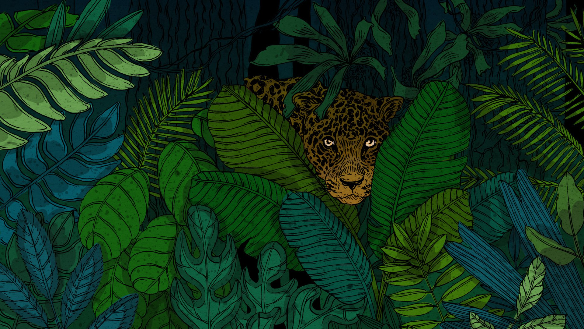 Girl Forest Wallpaper The Jaguar Is Made For The Age Of Humans The Atlantic