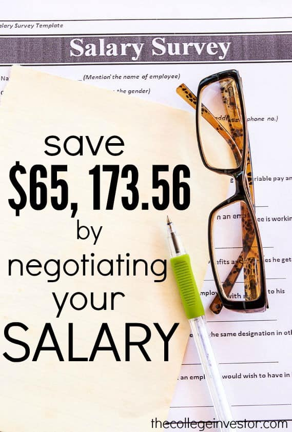 Failing To Negotiate Your Salary Will Cost You $65,17356