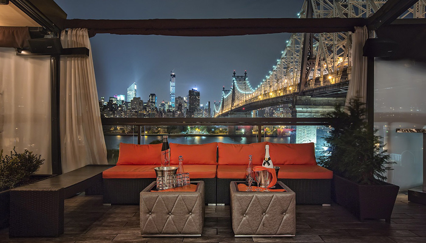 Kitchen Design Queens Ny Enjoy Fancy Rooftop Dining In Nyc For Food Above The Fray