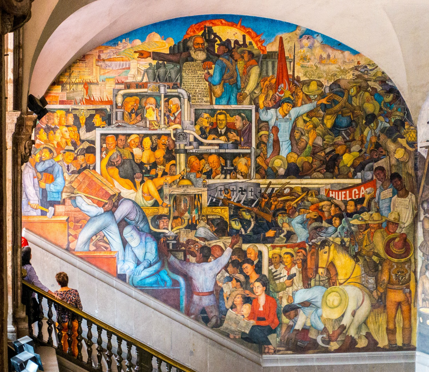 Arte Chicano Murals A Brief Overview Of Diego Rivera S Murals In San Francisco