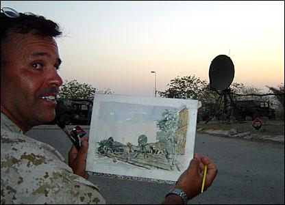 Michael Fay at work | Public Domain, WikimediaCommons