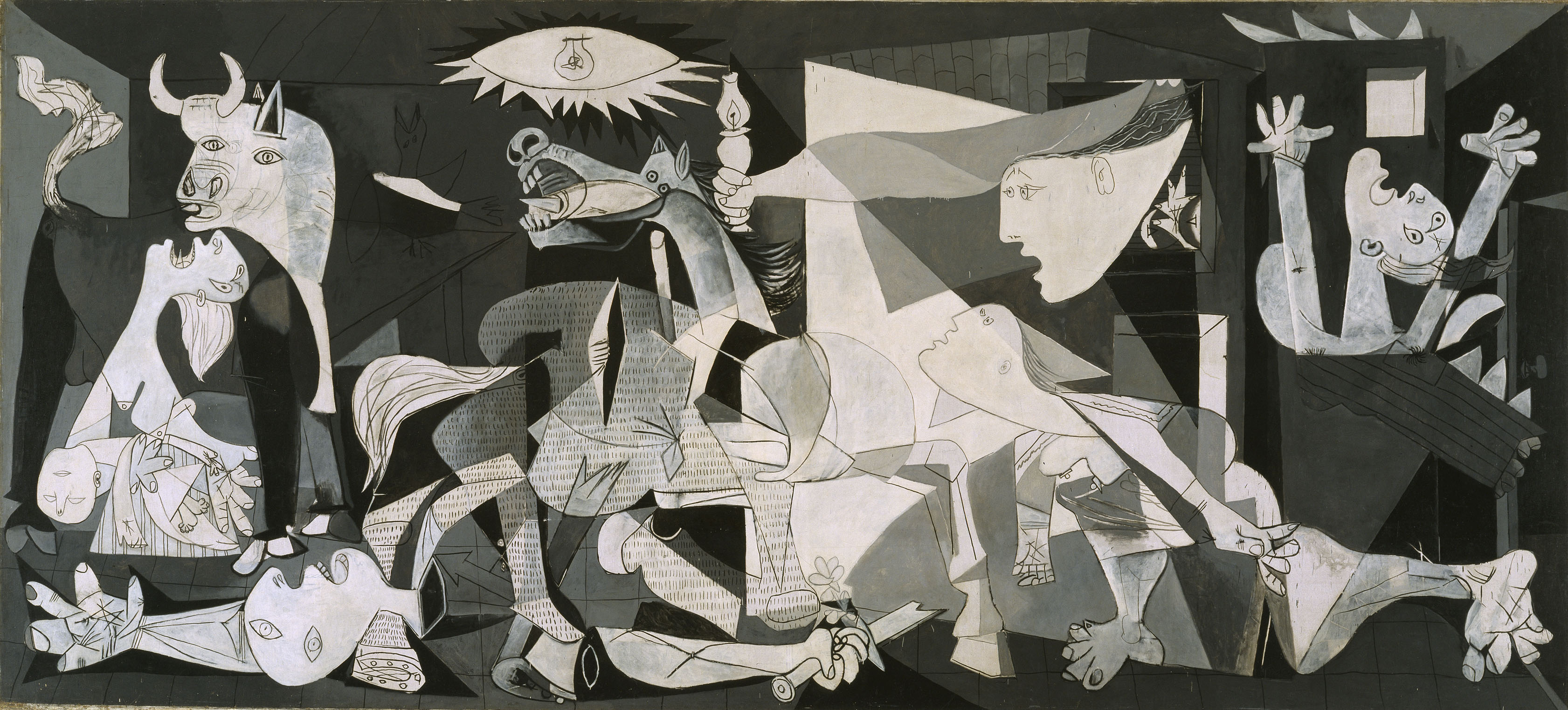 La Arte In Spanish Pablo Picasso S Guernica A Symbol Against War