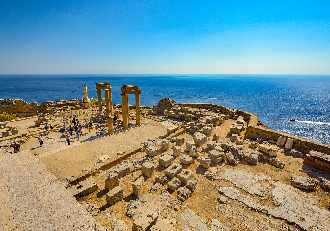Rhodes Lindos The Greece Travel Guide For Every Month