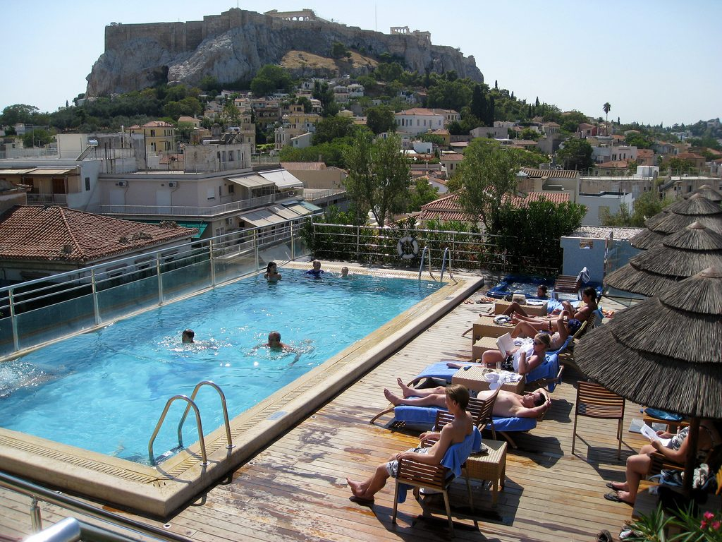 Divani Caravel Gym The Best Rooftop Pools In Athens With Stunning Views