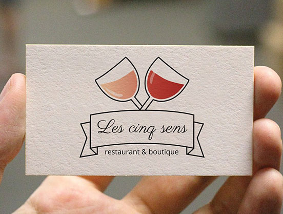 French Restaurant Business Cards Business Cards The Design