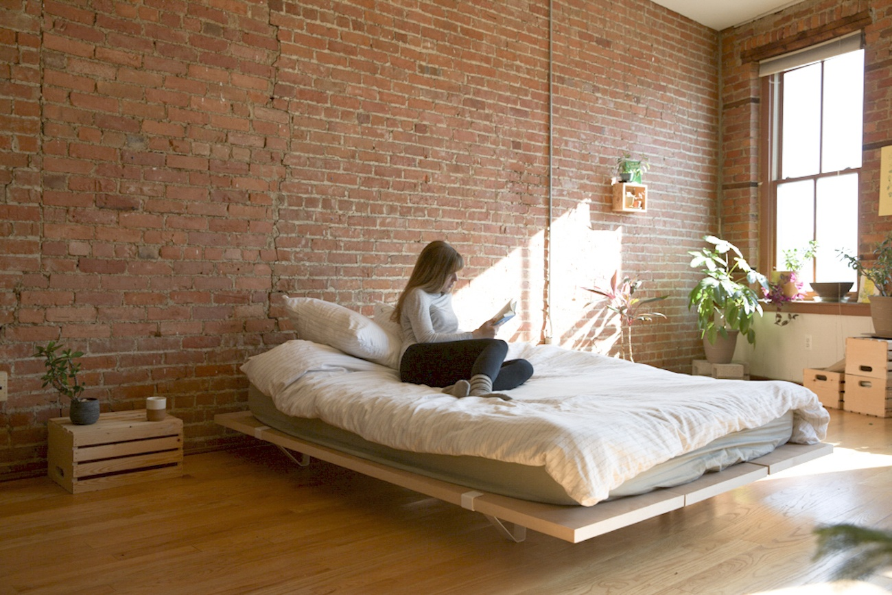 Brick Bed Frames Floyd Platform Bed Review The Gadget Flow