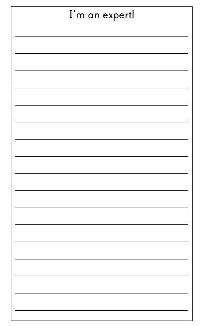 Make an expert list A prewriting strategy for kids - The Measured Mom