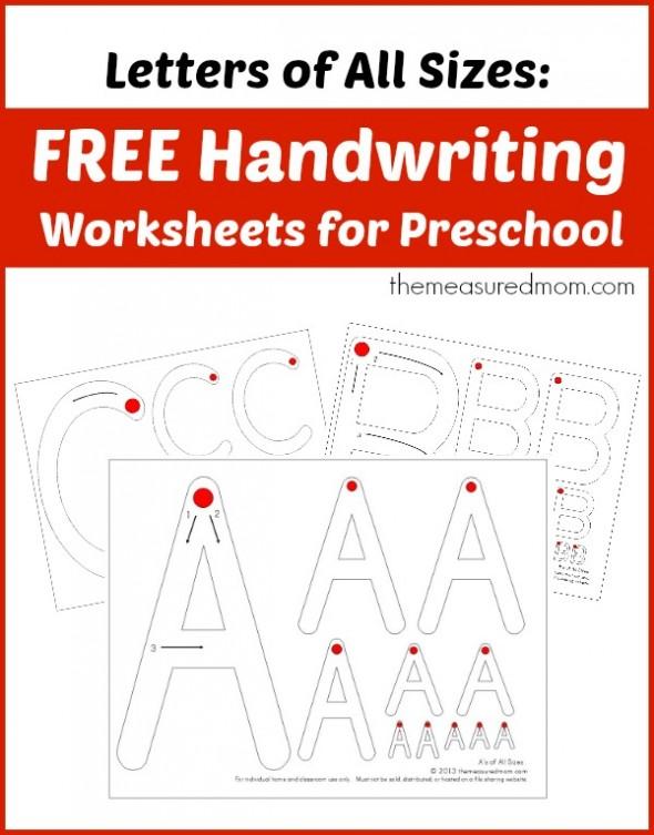 Teaching Handwriting - The Measured Mom