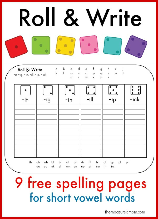 5 free games for teaching digraphs - The Measured Mom - cover letter sample for job application