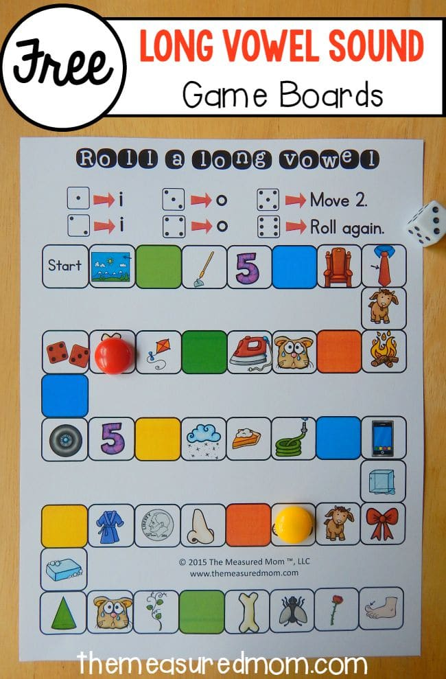 5 free games for teaching digraphs - The Measured Mom - grocery words