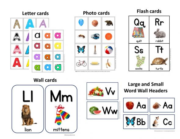 A-Z Letter Cards, Photo Cards, Alphabet Flash Cards  More - The