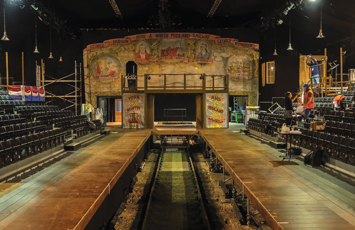 Backstage Set Design Steams Ahead In Yorks Temporary