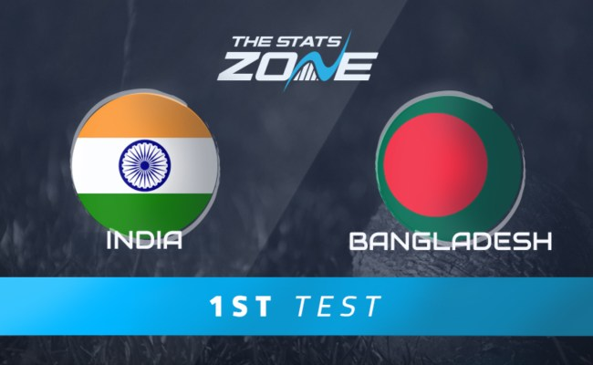 India Vs Bangladesh 1st Test Match Preview Prediction The Stats Zone