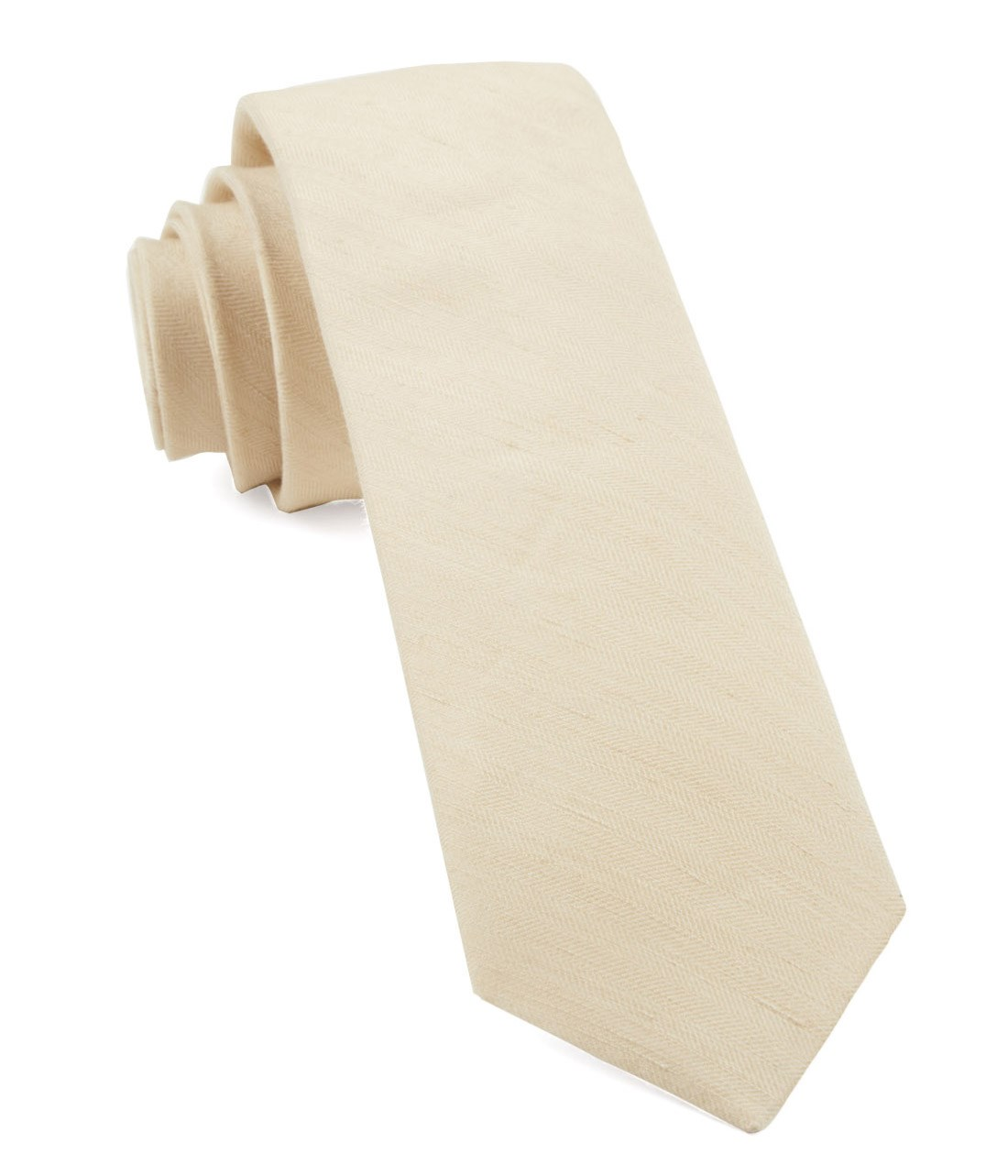 Light Champagne Linen Row Tie Ties Bow Ties And Pocket