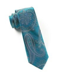 Teal Wedding Ties and Pocket Squares