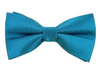 Teal Static Solid Bow Tie | Ties, Bow Ties, and Pocket ...