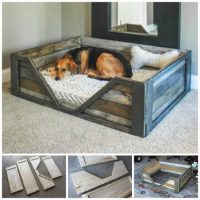 diy pallet dog bed the whoot MEMES