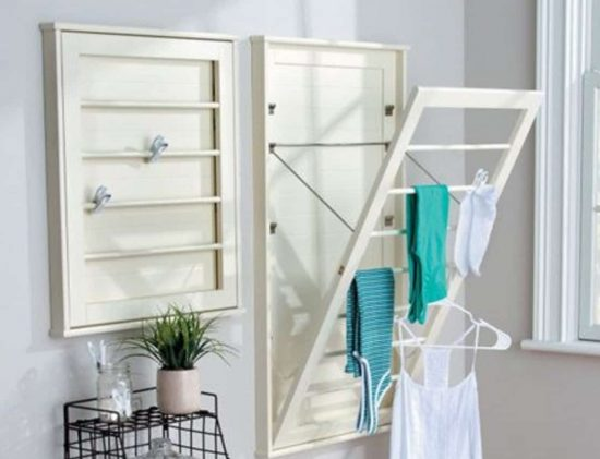 Diy Wall Mounted Drying Rack Free Plans The Whoot
