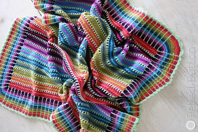 Skittles Crochet Blanket Pattern Is A Stunner The Whoot
