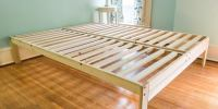 Bed High Off Ground The Frames Also Great Platform Metal ...
