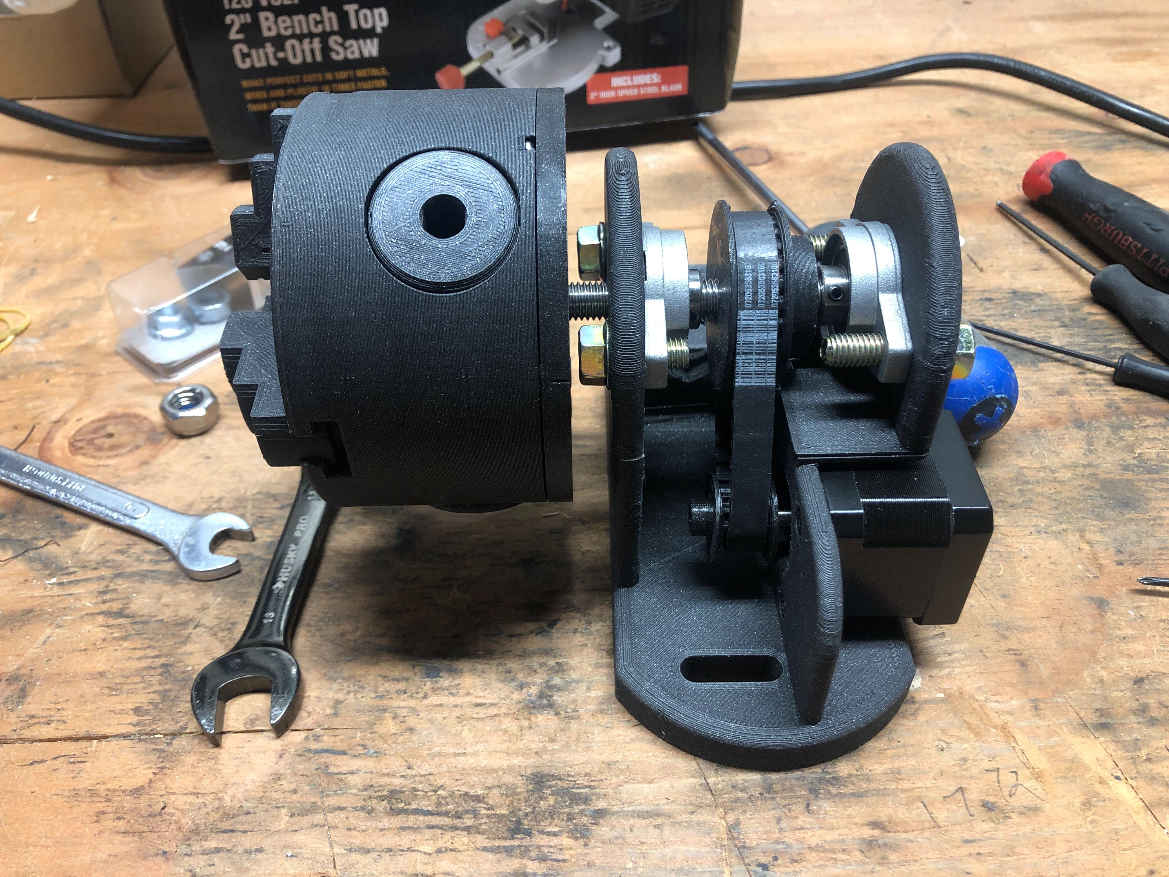 Makes Of Rotary 4th Axis For Cnc Mpcnc By Blindmoe Thingiverse