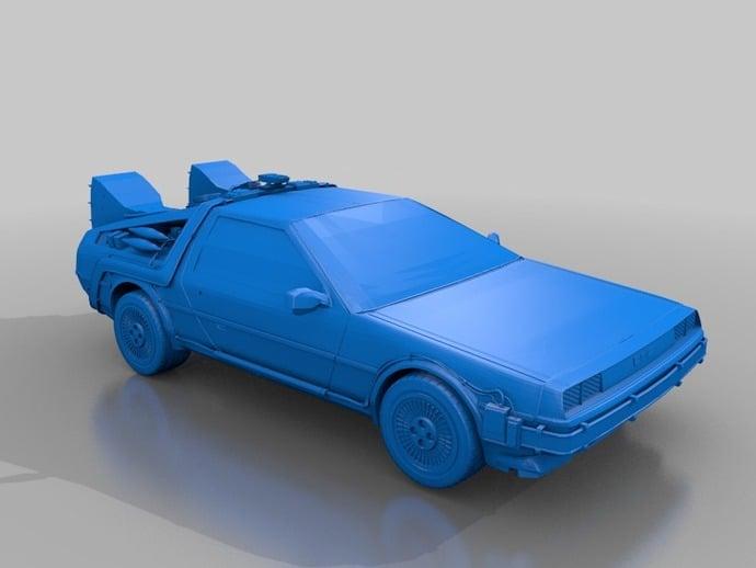 Lamborghini 3d Wallpaper Delorean By Hendo420 Thingiverse