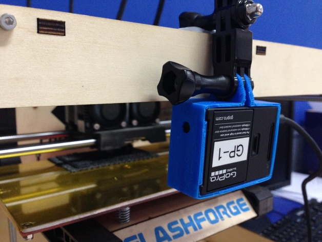 Cable Usb Gopro Hero3 Black 3d Printed Mount By Frankhua - Thingiverse