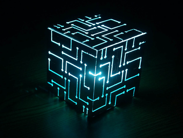 Free Wallpaper Nature Hd Alien Cube With Lights By 3dsage Thingiverse
