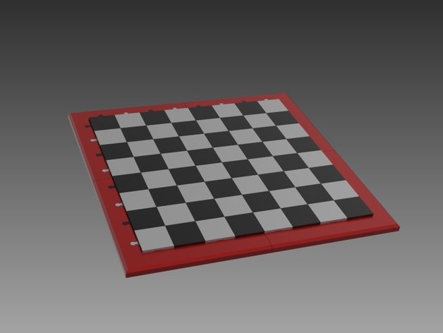 Printable Chess Board by Matthew1 - Thingiverse