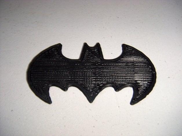Car Dashboard Wallpaper Batman Symbol Openscad By Seynls Thingiverse