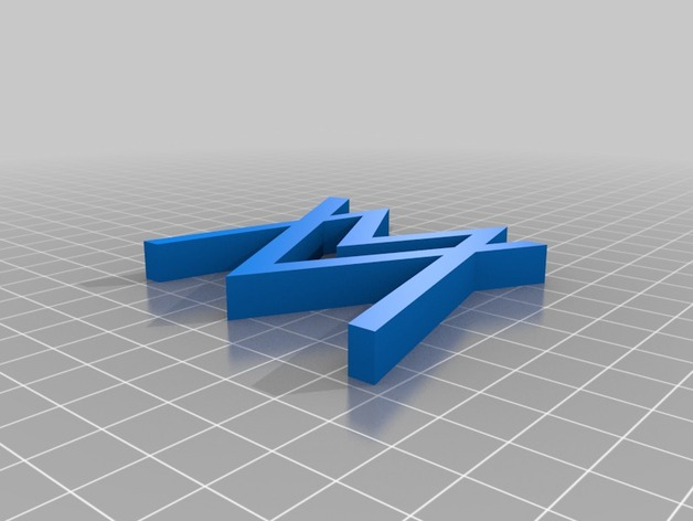3d Pc Wallpaper Com Alan Walker Logo 3d Badge By Smithyverse Thingiverse
