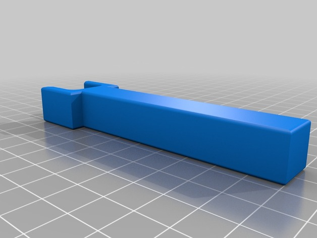 External Label Roll Holder By Janh Thingiverse