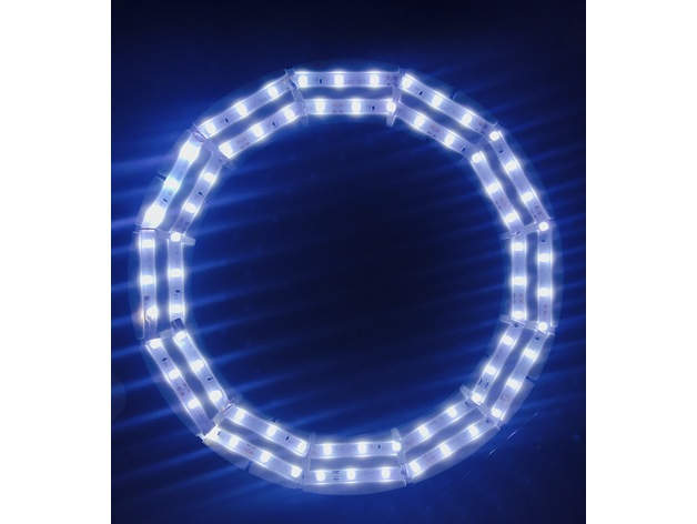 Lamp Bulb Circular Led Strip Holder For 3528 Led Strip By Sb43201