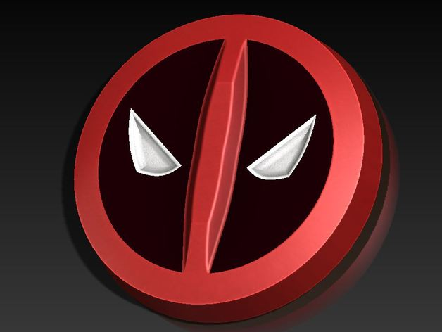 Ps4 Wallpaper Hd Deadpool Symbol Coin By Internet Nickname Thingiverse