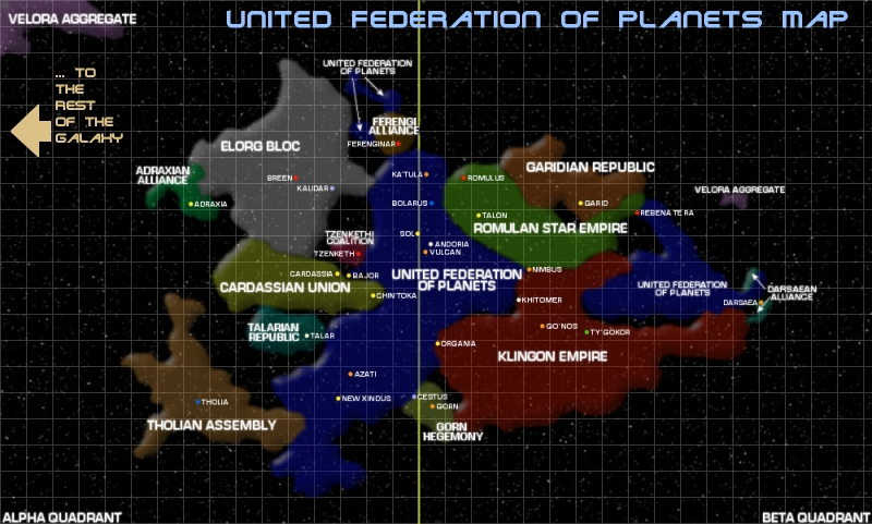 Solar System 3d Wallpaper United Federation Of Planets Map Thinglink