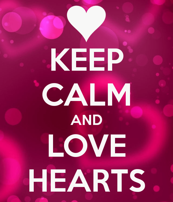 Cute Love Hearts Wallpapers Keep Calm And Love Hearts